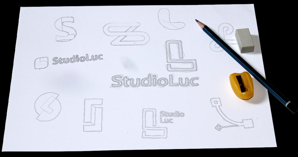 logo ontwerp schets